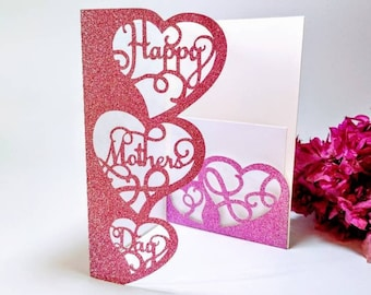 Free The free cricut valentine's day card svg downloadable files are not to be used for resale or for profit. Svg Mothers Day Card Etsy SVG, PNG, EPS, DXF File