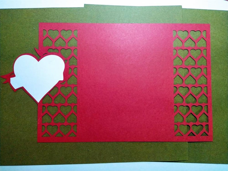 Laser Cut Set 2 SVG Templates Valentines Day Cards Cricut Valentines Gifts Invitation Gate Fold Saint Valentin Hearts Gifs Silhouette