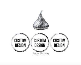 Custom Kisses stickers