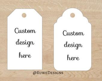 Custom design - Thank You/Gift Tags