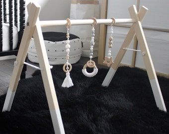 Wooden Baby Activity Gym - Wooden Play Gym, Wood Play Gym, Baby Play Gym, Baby Activity Gym, Play Gym, Play Gym Toys, Baby Shower Gift