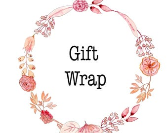 Gift Wrap Add-on~~Available for Jewelry Only
