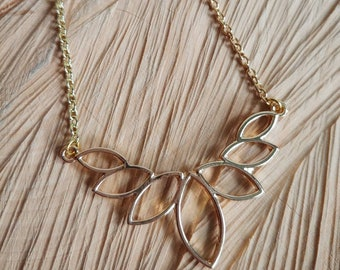 Lotus Flower Essential Oil Diffusing Necklace