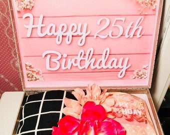 25th Birthday YouAreBeautifulBox 25 Girl Gift Gifts For Her Care Package Daughter Friend
