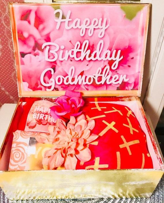 Godmother Birthday Gift Box Happy