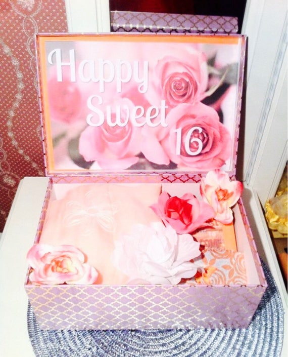 Sweet 16 Gift YouAreBeautifulBox Birthday For Her