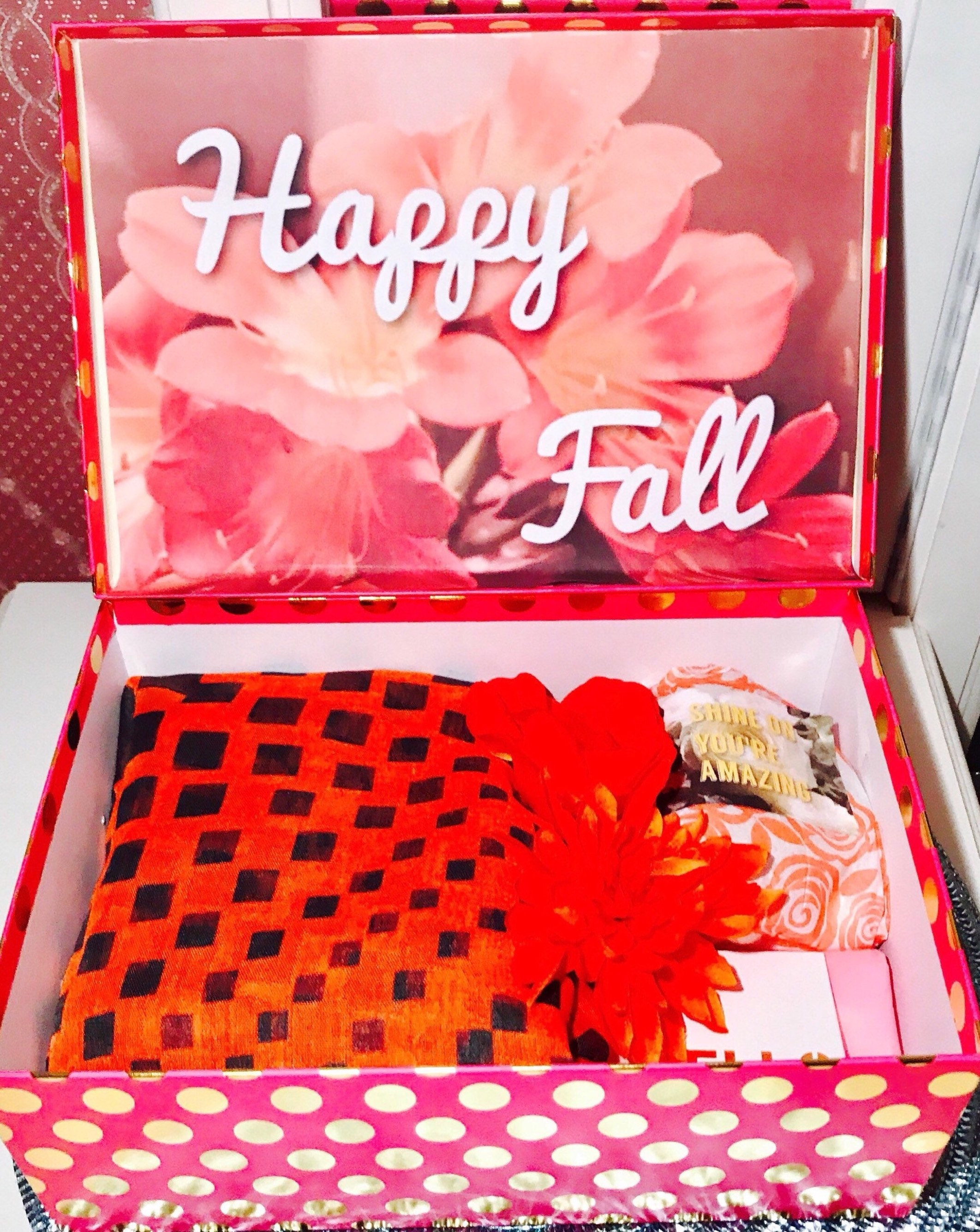 Fall Care Package You Are Beautiful Box College Care Etsy
