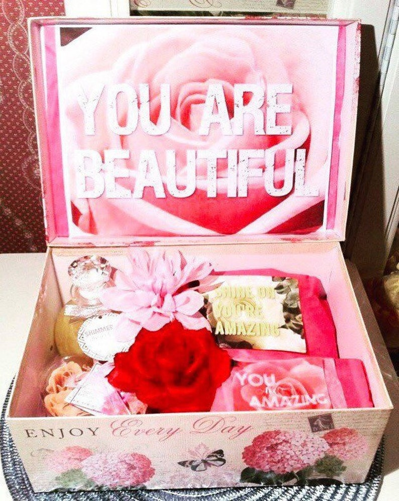 Happy Birthday Care Package Girl Gift Box For