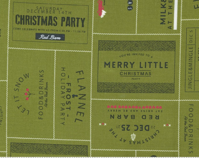 Red Barn Christmas The Invitations Grass, Sweetwater