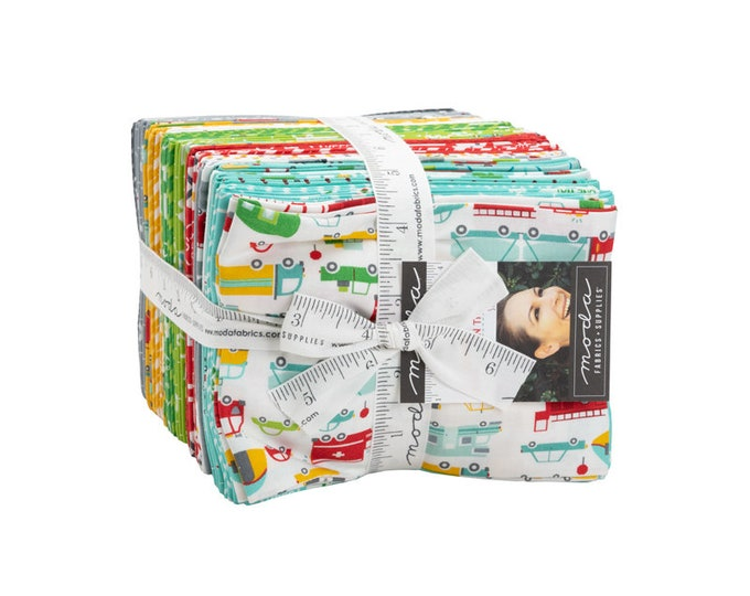 On The Go Beep Fat Quarter Bundle 36pc