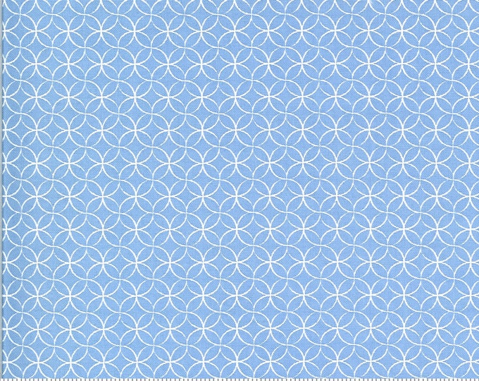 Spring Brook Bluebonnet, Bluebonnet, Spring Brook by Corey Yoder, Moda Fabrics, Blue Fabric