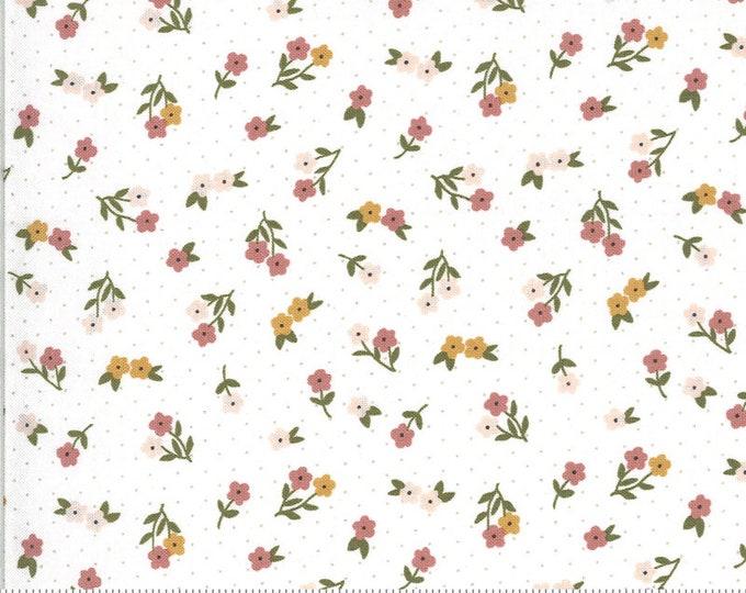 Folktale Posie Gathering Cloud, Folktale by Lella Boutique, Moda Fabrics, Floral Fabric