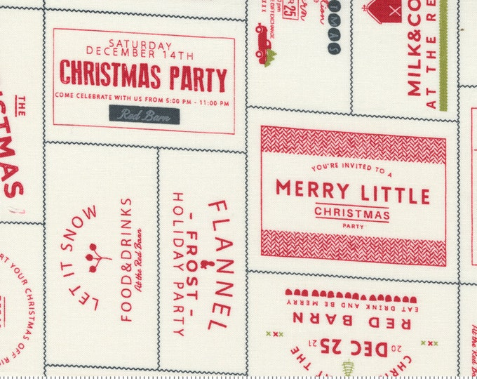 Red Barn Christmas The Invitations Vanilla Red, Sweetwater