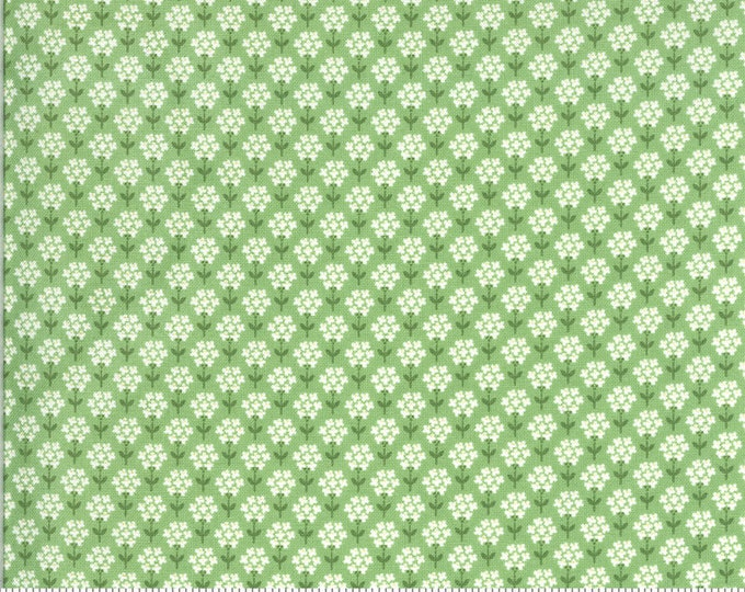 Spring Brook Sprout, Spring Brook by Corey Yoder, Moda Fabrics, Green Flower Fabric