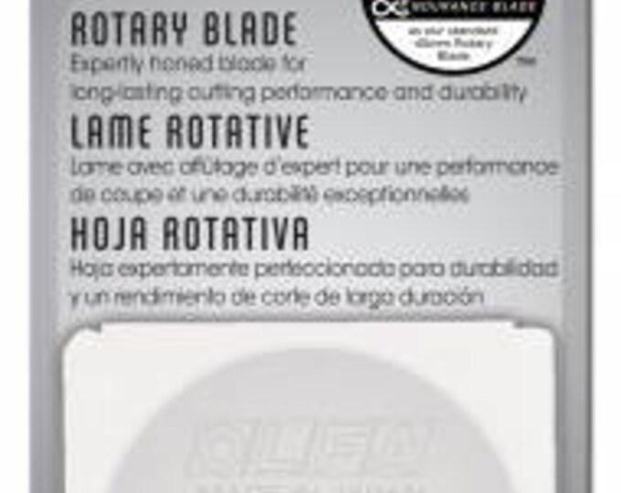 Olfa 45mm Endurance Blade, Rotary Cutter Blade, 45mm Replacement Blade, Olfa, Fabric Cutter