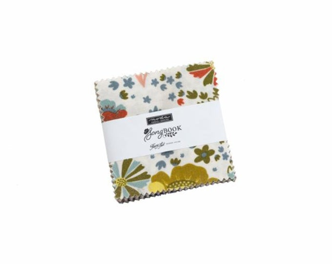 Songbook Mini Charm Pack,Fancy That Design House
