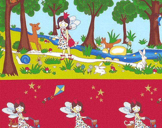 Lizzy Fay Enjoy Fairy Day Stripe, Lizzy Fay by STOF, Fairy Fabric