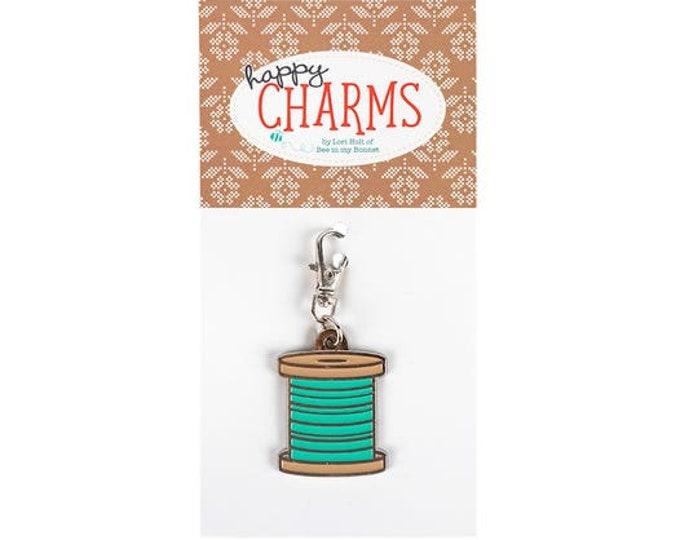 Happy Charm Spool Charm, Lori Holt