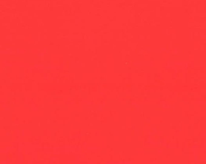 Bella Solid Bettys Red Fabric, Solid Red Fabric, Bella Solids by Moda Fabrics, Red Fabric 9900 123