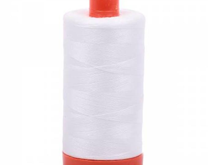 Aurifil 2021 50wt Natural White Thread