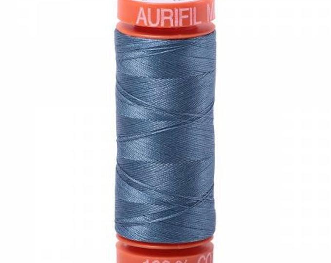Aurifil 1126 50wt Blue Grey Thread