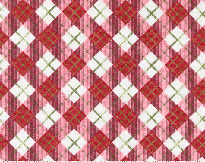 Red Barn Christmas Plaid Multi, Sweetwater