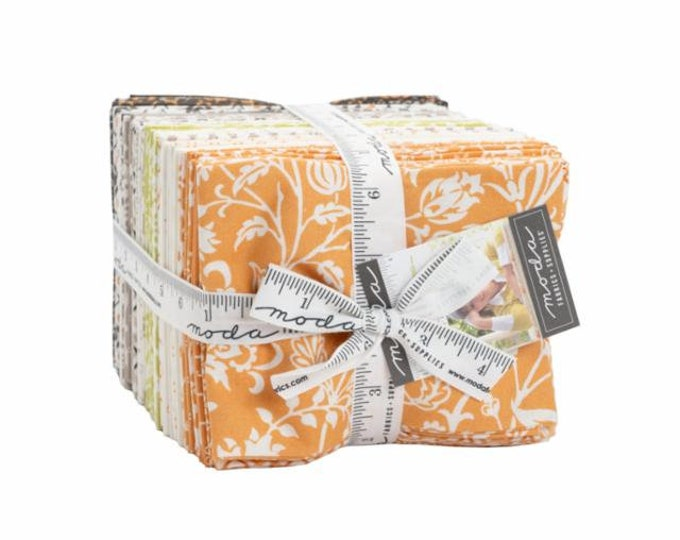 Pumpkin and Blossoms 38pc Fat Quarter Bundle by Fig Tree