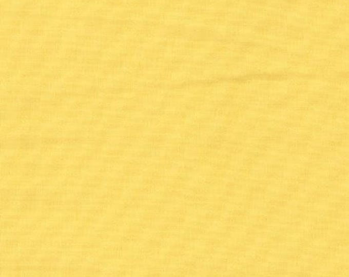 Bella Solid Buttercup Fabric, Solid Yellow Fabric, Bella Solids by Moda Fabrics, Yellow Fabric 9900 51