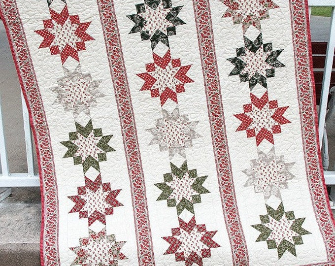 Blessings Quilt Pattern, It's Sew Emma Blessings, Jocelyn Ueng Quilt Pattern