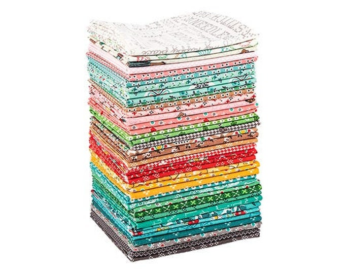 Stitch Fat Quarter Bundle 42pc, Lori Holt