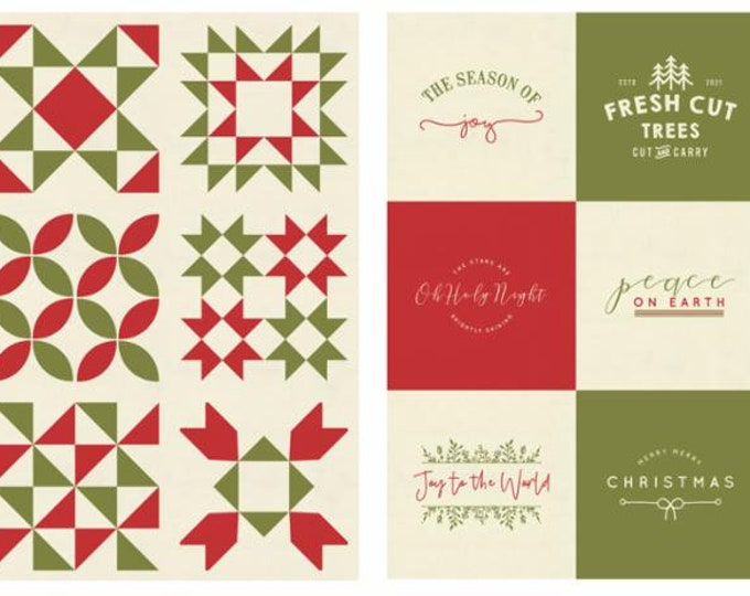 Red Barn Christmas Multi Panels By Sweetwater