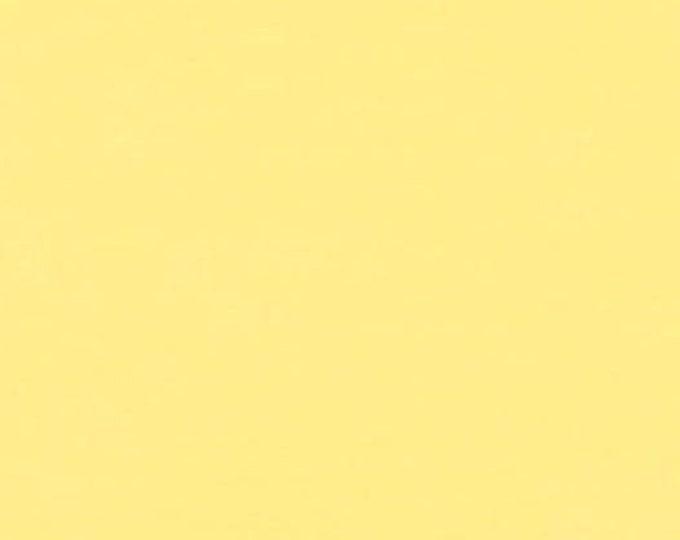 Bella Solid Sunshine Fabric, Solid Yellow Fabric, Bella Solids by Moda Fabrics, Yellow Fabric 9900 130