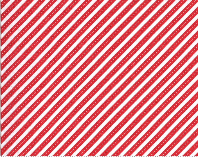 On The Go Stay in Your Lane Red, On The Go by Stacy Iest Hsu, Moda Fabrics, Kids Fabric