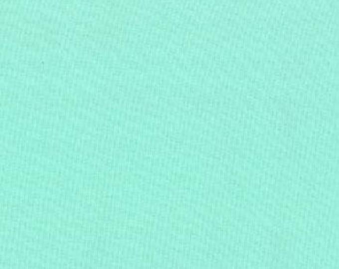 Bella Solid Aqua Fabric, Solid Aqua Fabric, Bella Solids by Moda Fabrics, Aqua Fabric 9900 34