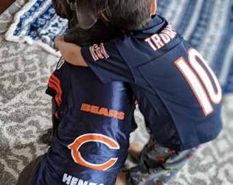 Chicago Bears Pet Jersey Personalized XS-XXL NFL Pet Clothes    pet apparel     pet clothing    cat clothes    dog clothes    sports 72ad16b12
