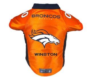 Denver Broncos Pet Jersey Personalized XS-XXL NFL Pet Clothes    pet apparel     pet clothing    cat clothes    dog clothes    sports b6fcdc1b0