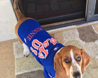 a713c73b905 New York Mets Dog Clothes Jersey Personalized SM-XXL MLB Pet Clothes    pet  apparel    pet clothing    cat clothes    dog clothes    sport