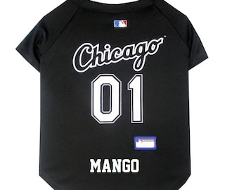 902cc25afd5 Chicago White Sox Dog Jersey Personalized SM-XXL MLB Pet Clothes    pet  apparel    pet clothing    cat clothes    dog clothes    sports fan