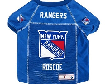 New York Rangers Dog Jersey Personalized XS-XL NHL Pet Clothes    pet  apparel    pet clothing    cat clothes    dog clothes    sports 6cb4e9574