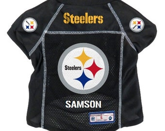 d2c4fd483 Pittsburgh Steelers Pet Jersey Personalized M-XL NFL Pet Clothes    pet  apparel    pet clothing    cat clothes    dog clothes    sports