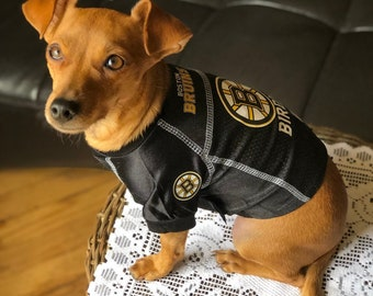 f59311d33 Boston Bruins Dog Jersey Personalized XS-XL NHL Pet Clothes    pet apparel     pet clothing    cat clothes    dog clothes    sports