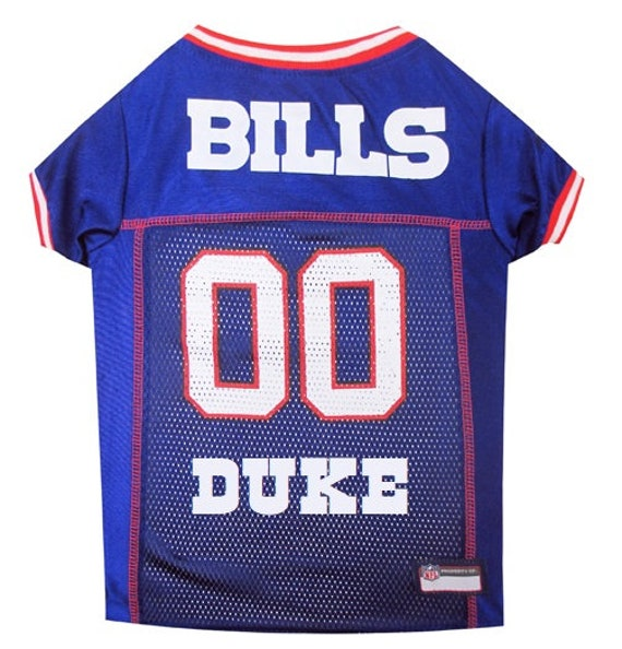 Buffalo Bills Dog Jersey Personalized XS-XXL NFL Pet Clothes  729c20005