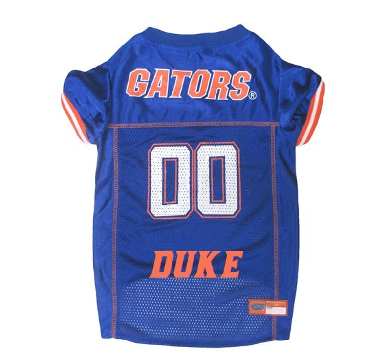 fd24ecb4bbc Florida Gators Dog Jersey Personalized XSM-XXL NCAA Pet | Etsy