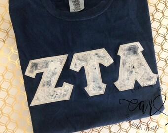 Greek letter shirt | Etsy
