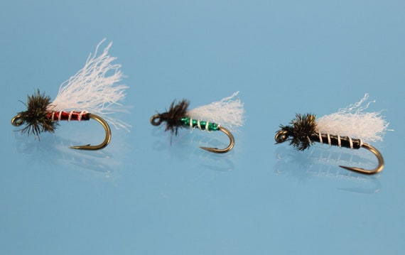 Trout Flies Box Fly Fishing Flies Box Dry Wet Nymph Buzzers Trout Fly Fishing LG