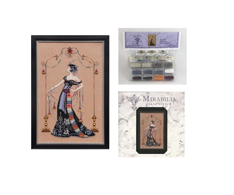 MIRABILIA Cross Stitch PATTERN /& EMBELLISHMENT PACK Gypsy Mermaid MD126