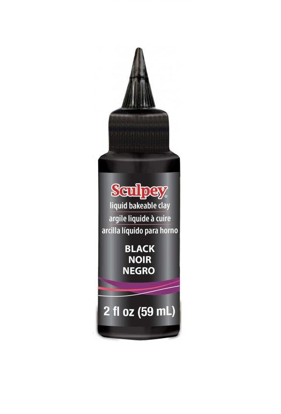 Sculpey Black Liquid Sculpey Bakeable Clay And Transfer Medium Etsy