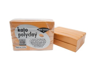 KATO POLYCLAY Polymer Clay Oven Bake 12.5 oz Metallic Gold