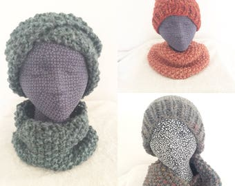 Seed Stitch Cowl // Cozy Cowl // Ready to Ship