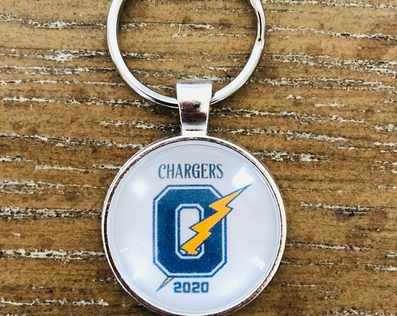 Oxford Chargers Spirit Keychain